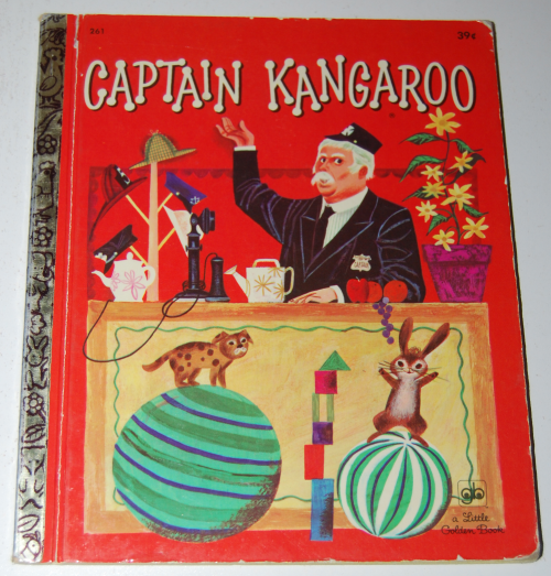 Little golden book captain kangaroo