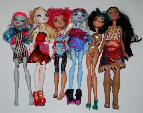 Mh & ea dolls