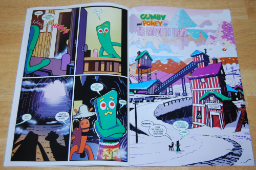 Gumby comic book 1 2017 4