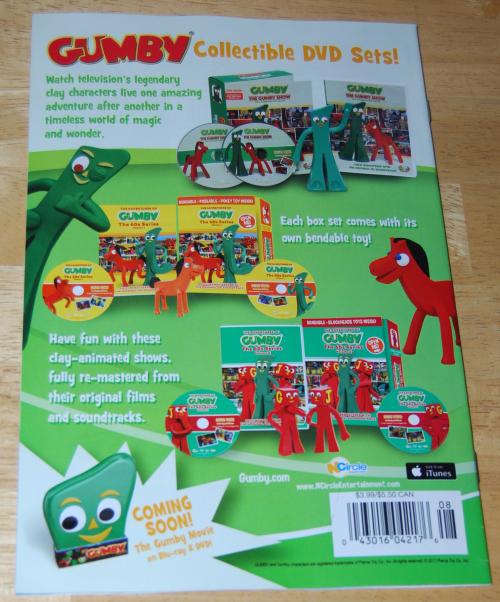 Gumby comic book 1 2017 x