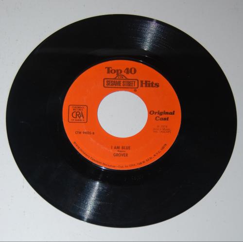 Vintage sesame street vinyl records 4