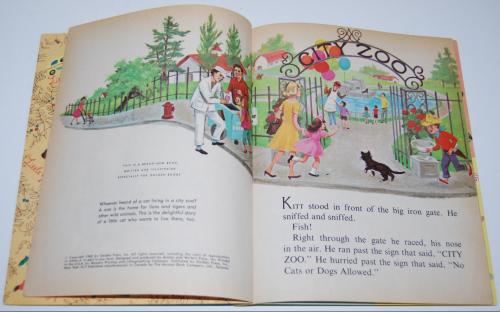 Little golden book who needs a cat 2