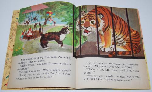 Little golden book who needs a cat 4