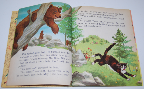 Little golden book who needs a cat 5