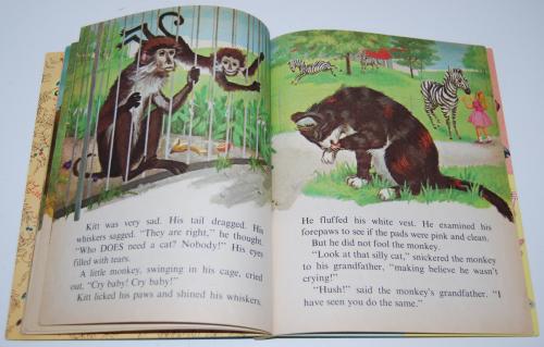 Little golden book who needs a cat 7