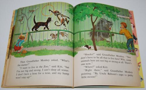 Little golden book who needs a cat 8