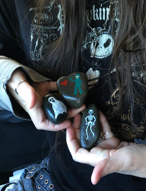 Portland rocks ghost
