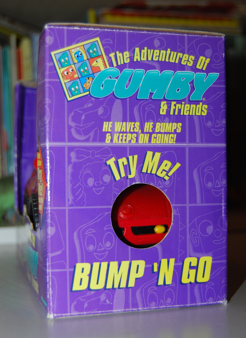 Gumby bump'n go car 1
