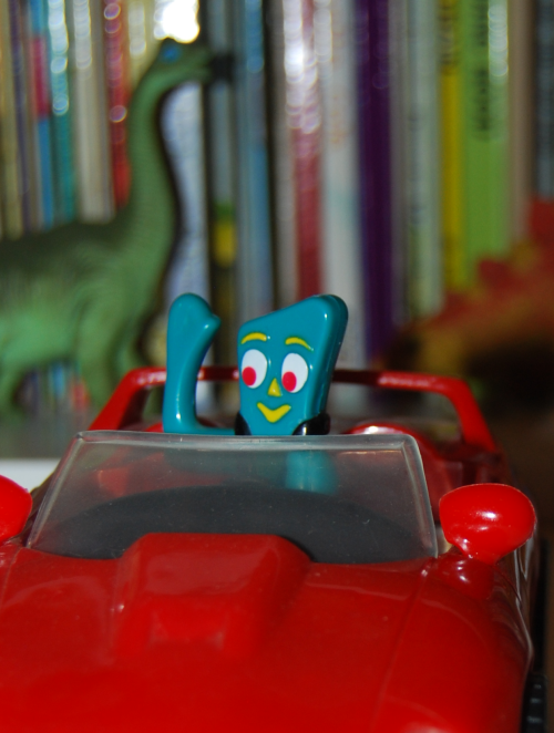 Gumby bump'n go car 3
