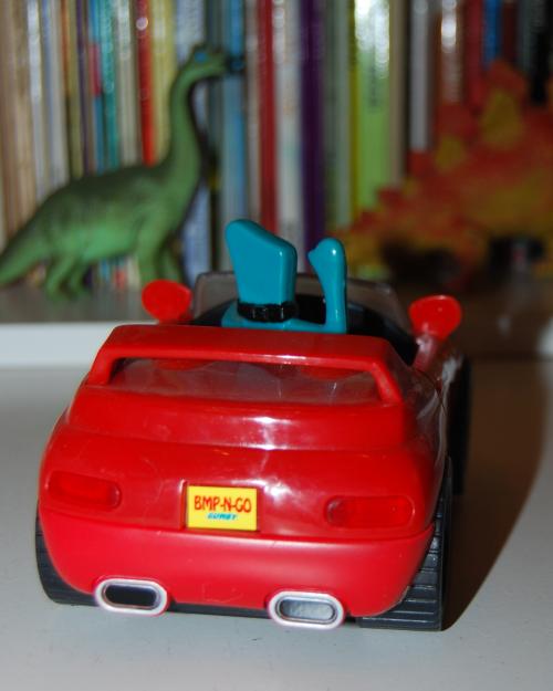 Gumby bump'n go car 6