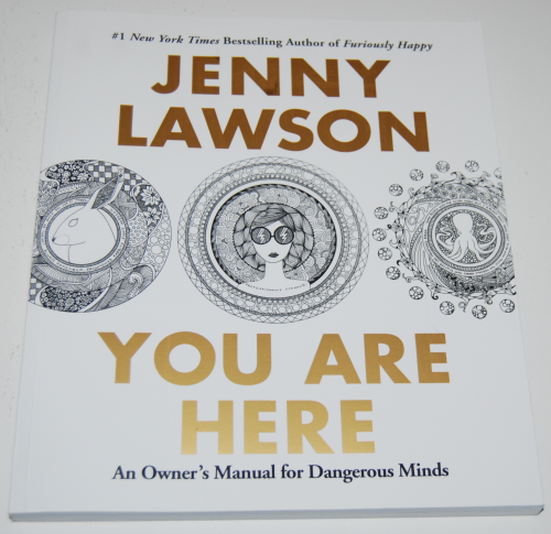 Jenny lawson you are here coloring book