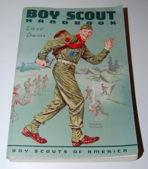 1964 vintage boy scout handbook