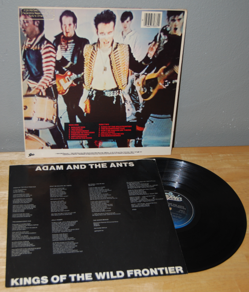 Adam & the ants vinyl lp x