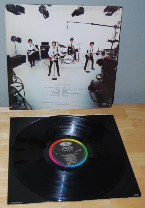 Get the knack vinyl lp x