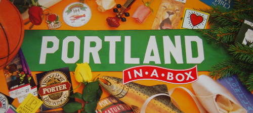 Portland in a box board game x