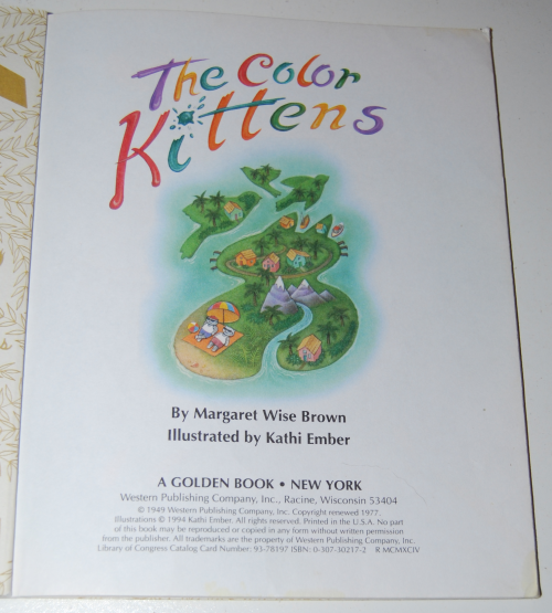 Lgb the color kittens 1994