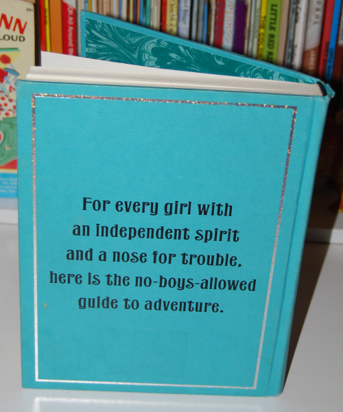 The daring book for girls x