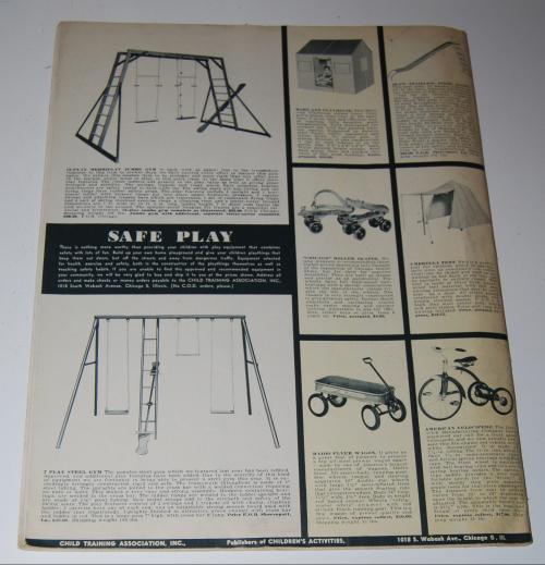 Children's activities magazine may 1948 x