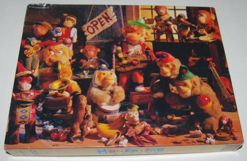 Puzzles monkeying around