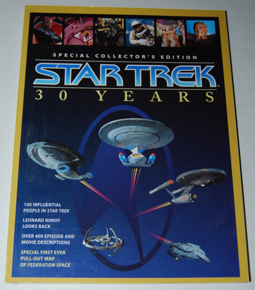 Star trek special edition 30 year collector's book