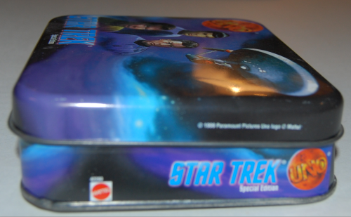 Star trek special edition uno card game tin 4