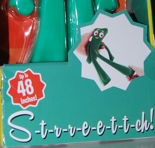 New! stretch Gumby toy