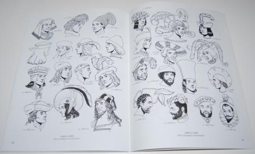 Dover renaisance fashion coloring book 10