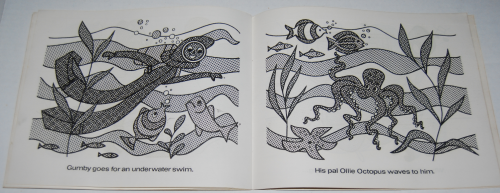 Gumby paint with water book whitman 8