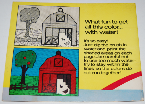Gumby paint with water book whitman 1