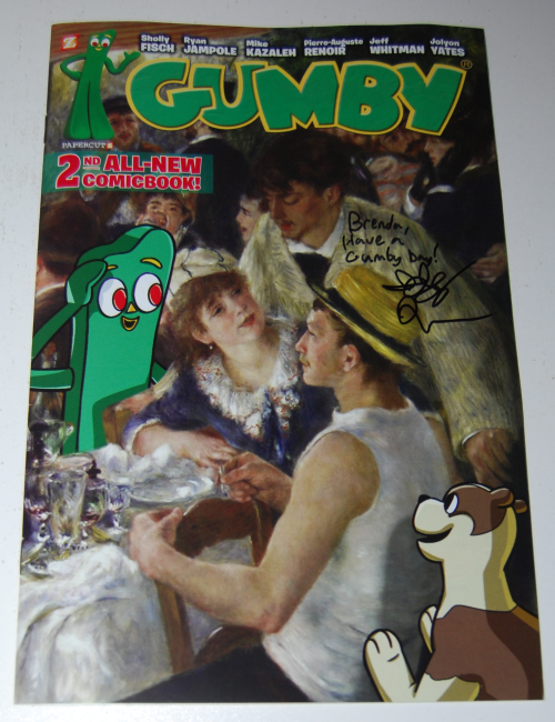 New gumby comic book 2