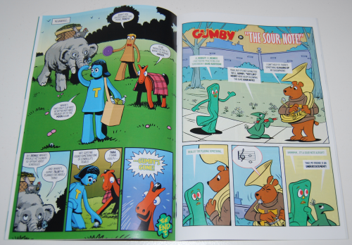 New gumby comic book 2 3