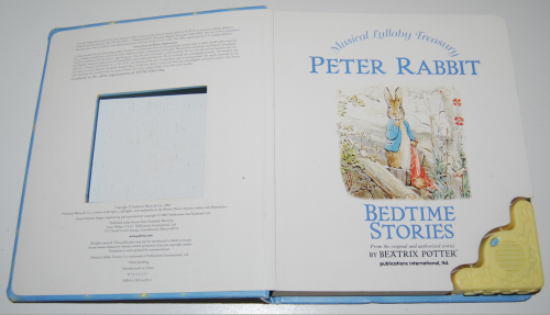 Peter rabbit musical lullaby treasury book 1
