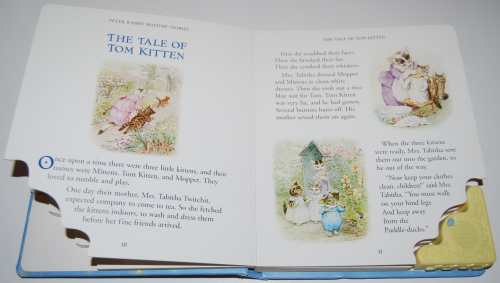 Peter rabbit musical lullaby treasury book 4