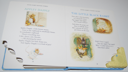 Peter rabbit musical lullaby treasury book 7
