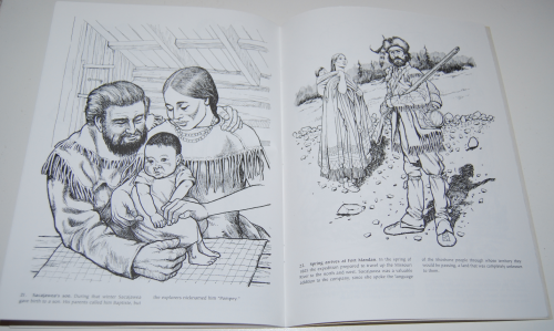 Dover sacajawea coloring book 8