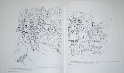 Dover sacajawea coloring book 9