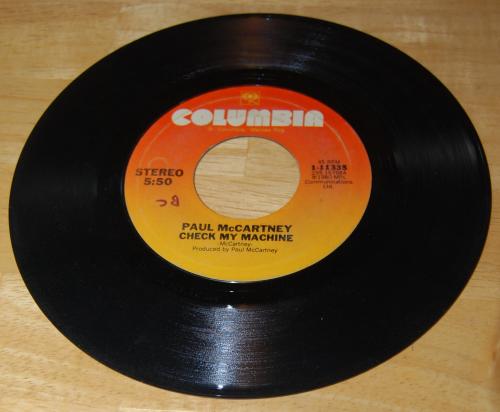 Vintage vinyl beatles 45s 4