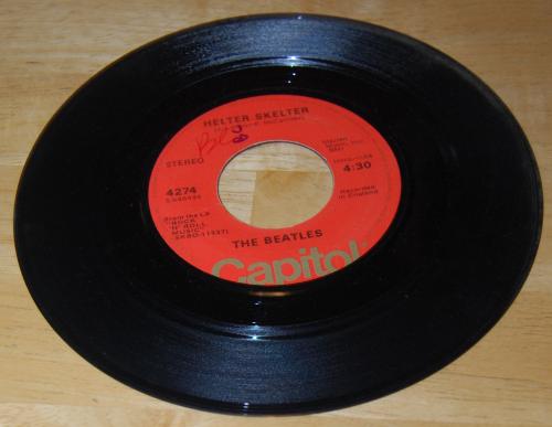 Vintage vinyl beatles 45s 8
