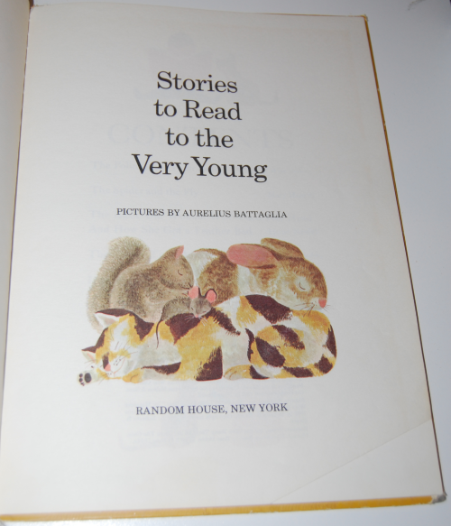 Stories to read to the very young 1