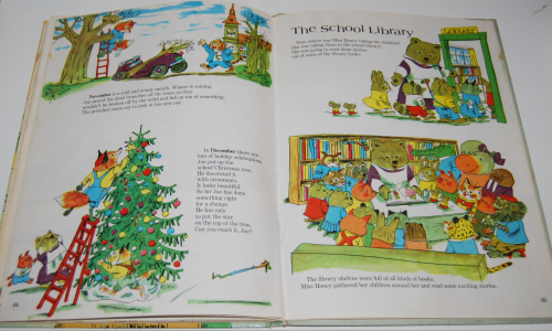 Richard scarry's great big schoolhouse book 11