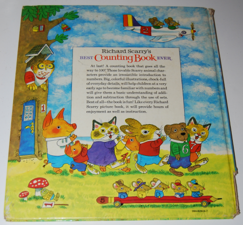 Richard scarry's best counting book ever x