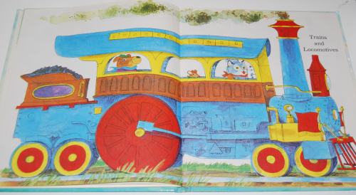 Richard scarry's hop aboard here we go 11
