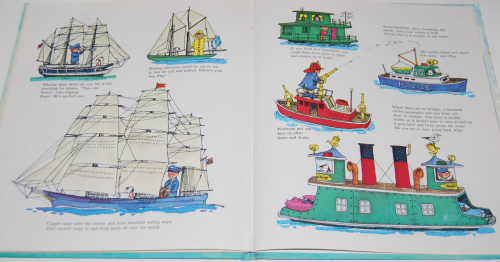 Richard scarry's hop aboard here we go 16