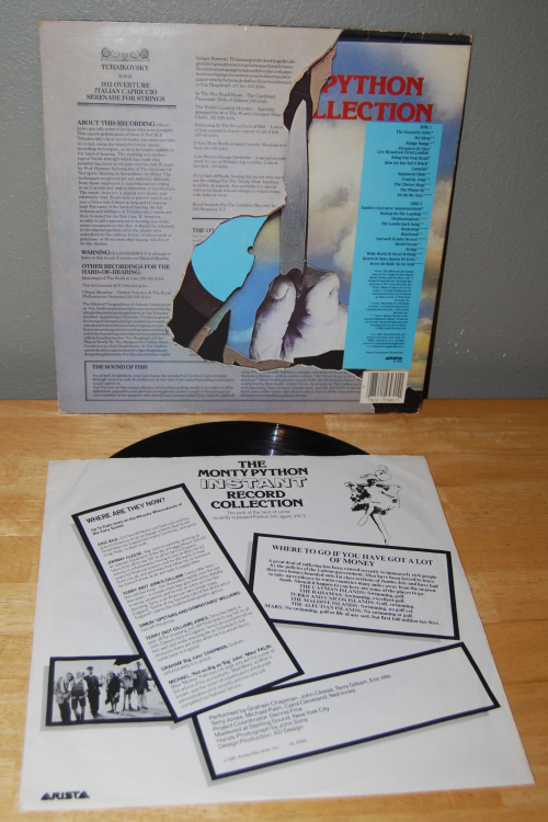 The monty python instant record collection vinyl 2