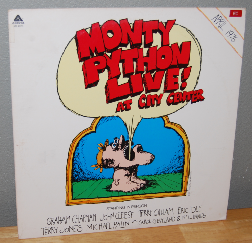 The monty python instant record collection vinyl 5