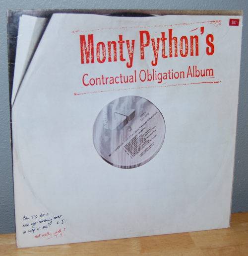 The monty python instant record collection vinyl 7