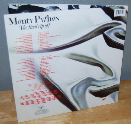 The monty python instant record collection vinyl 14