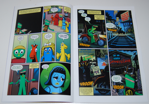 Gumby new comic book 3 2