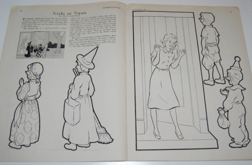 Children's activities magazine october 1947 8