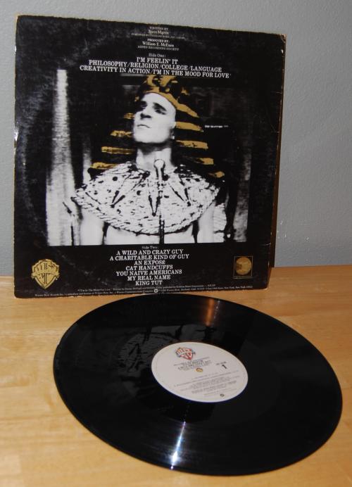 Steve martin vinyl x